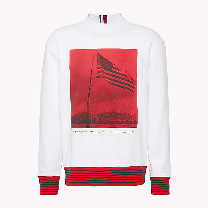 HILFIGER COLLECTION Hilfiger Collection Printed Sweatshirt - BARBADOS CHERRY - HILFIGER COLLECTION Men - detail image 4