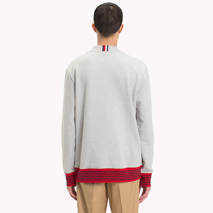 HILFIGER COLLECTION Hilfiger Collection Printed Sweatshirt - BRIGHT WHITE - HILFIGER COLLECTION Men - detail image 1