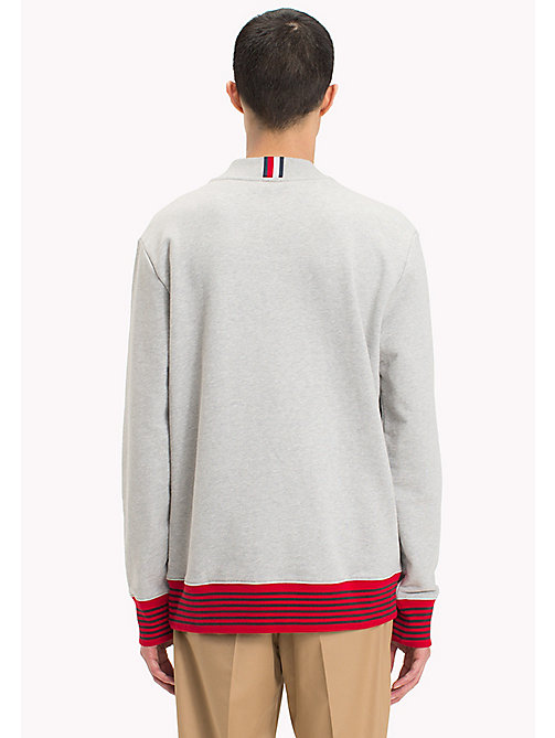 HILFIGER COLLECTION Hilfiger Collection Printed Sweatshirt - CLOUD HTR - HILFIGER COLLECTION Sweatshirts & Knitwear - detail image 1