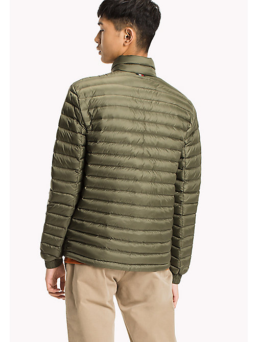 TOMMY HILFIGER Packable Down Bomber - FOUR LEAF CLOVER - TOMMY HILFIGER Men - detail image 1
