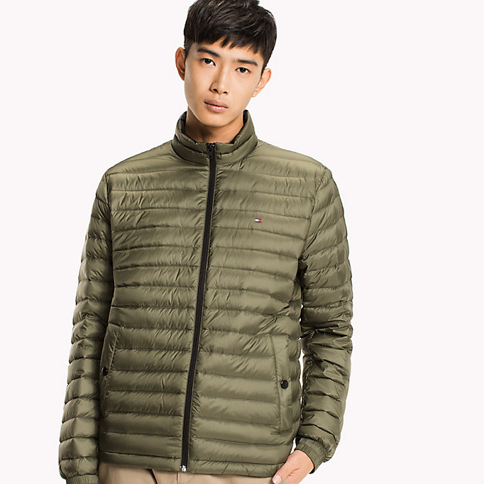 TOMMY HILFIGER Packable Down Bomber - LIMOGES - TOMMY HILFIGER Clothing - main image