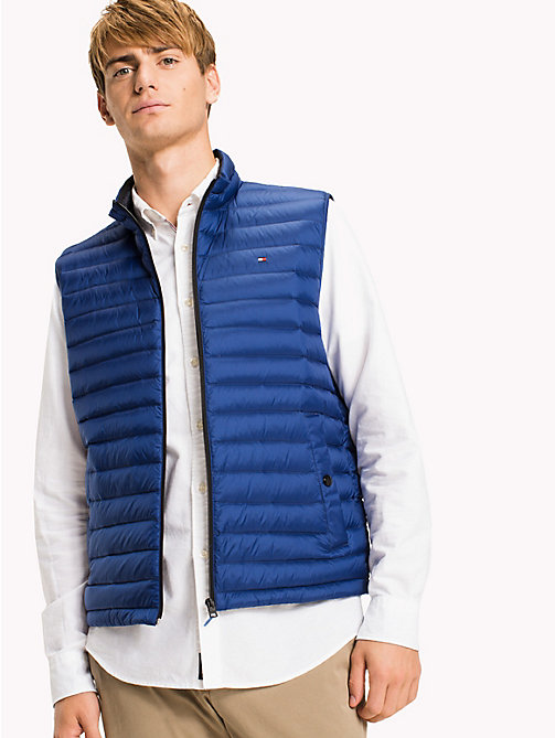 TOMMY HILFIGER Packable Quilted Gilet - LIMOGES? 19-4044 - TOMMY HILFIGER Clothing - main image