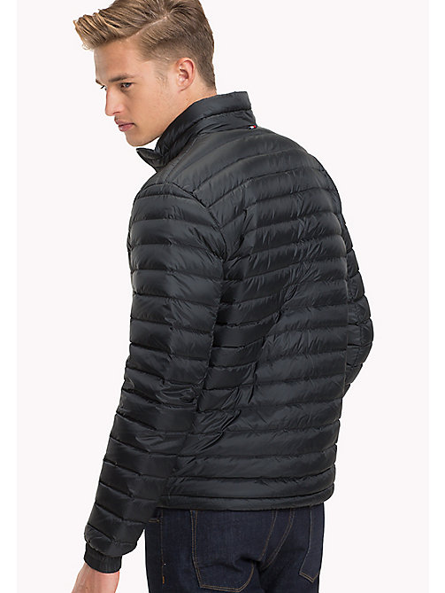 TOMMY HILFIGER Long Sleeve Padded Jacket - JET BLACK - TOMMY HILFIGER Jackets - detail image 1