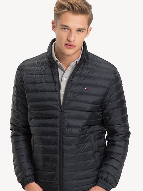 TOMMY HILFIGER Long Sleeve Padded Jacket - JET BLACK - TOMMY HILFIGER Basics - main image