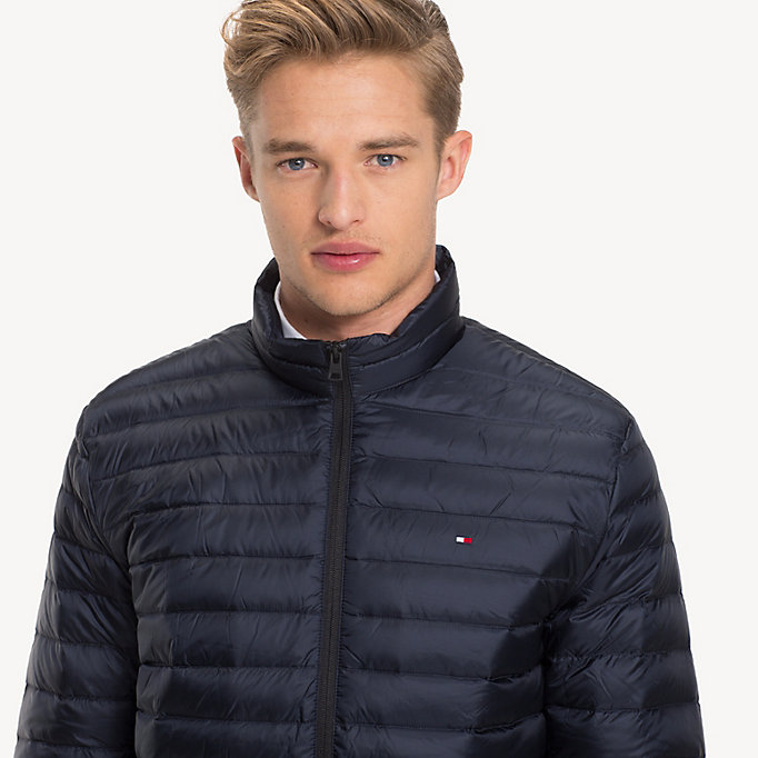 TOMMY HILFIGER Long Sleeve Padded Jacket - JET BLACK - TOMMY HILFIGER Men - detail image 3