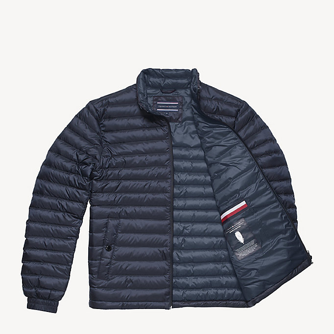 TOMMY HILFIGER Long Sleeve Padded Jacket - JET BLACK - TOMMY HILFIGER Clothing - detail image 4