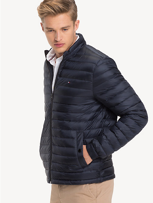 TOMMY HILFIGER Long Sleeve Padded Jacket - SKY CAPTAIN - TOMMY HILFIGER Jackets - main image
