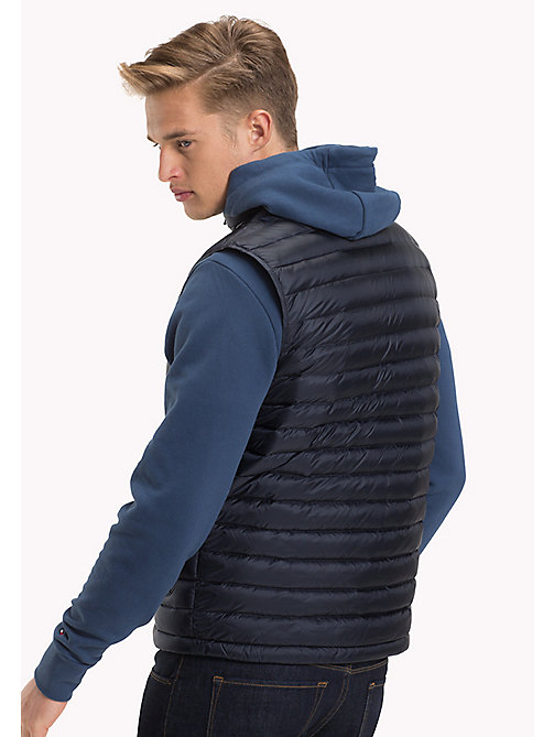 TOMMY HILFIGER Down-Padded Gilet - SKY CAPTAIN - TOMMY HILFIGER Jackets - detail image 1