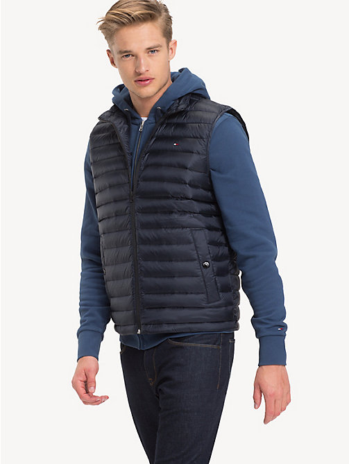 TOMMY HILFIGER Down-Padded Gilet - SKY CAPTAIN - TOMMY HILFIGER Basics - main image
