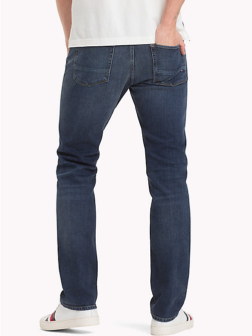 TOMMY HILFIGER Denton Faded Straight Fit Jeans - AMBOY INDIGO - TOMMY HILFIGER Clothing - detail image 1