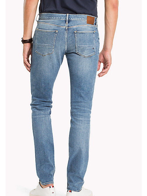 TOMMY HILFIGER Faded Slim Fit Jeans - ALTON BLUE - TOMMY HILFIGER Slim-Fit Jeans - detail image 1