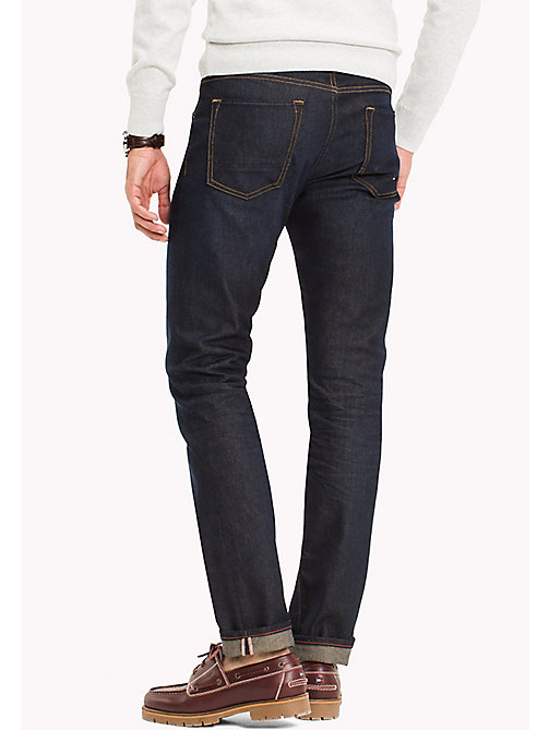 TOMMY HILFIGER Eco Straight Fit Jeans - PALOS INDIGO - TOMMY HILFIGER Clothing - detail image 1
