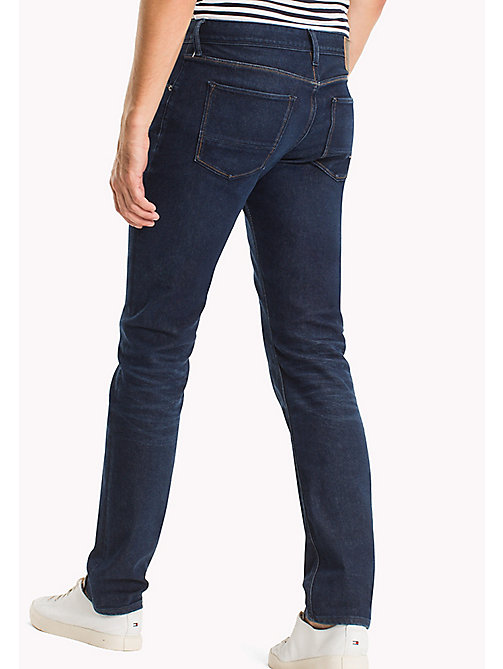 TOMMY HILFIGER Slim Fit Eco-Jeans - PONTIAC BLUE - TOMMY HILFIGER Sustainable Evolution - main image 1
