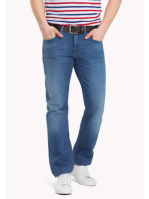 TOMMY HILFIGER Recycled Regular Fit Jeans - ZEIGLER BLUE - TOMMY HILFIGER Clothing - main image