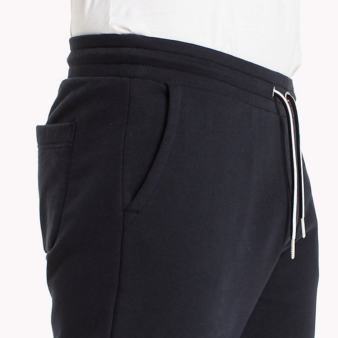 TOMMY HILFIGER Regular Fit Drawstring Joggers - CLOUD HTR - TOMMY HILFIGER Men - detail image 2
