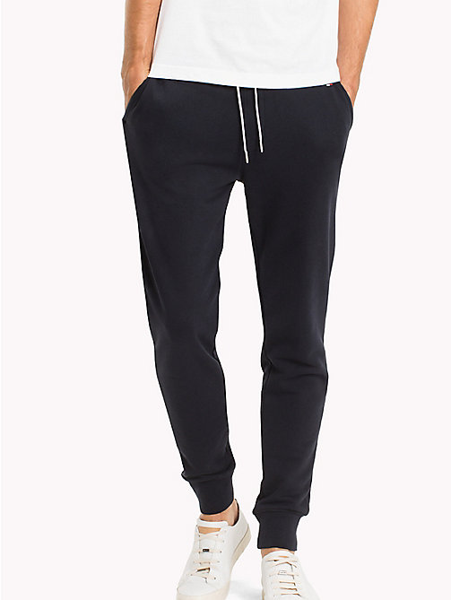 TOMMY HILFIGER Regular Fit Drawstring Joggers - SKY CAPTAIN - TOMMY HILFIGER Sweatpants - main image