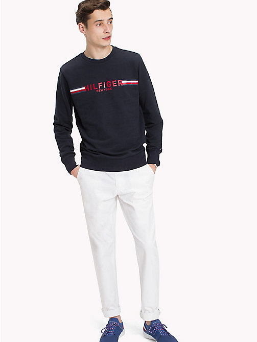 TOMMY HILFIGER Iconic Tommy Sweatshirt - SKY CAPTAIN - TOMMY HILFIGER Clothing - main image