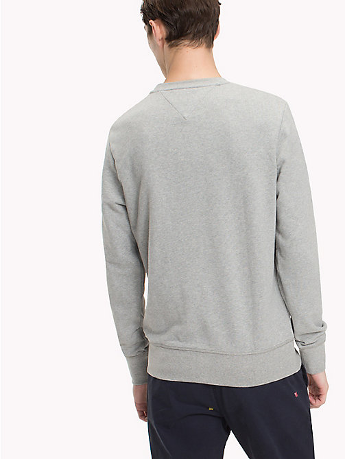 TOMMY HILFIGER Iconic Tommy Sweatshirt - CLOUD HTR - TOMMY HILFIGER Clothing - detail image 1