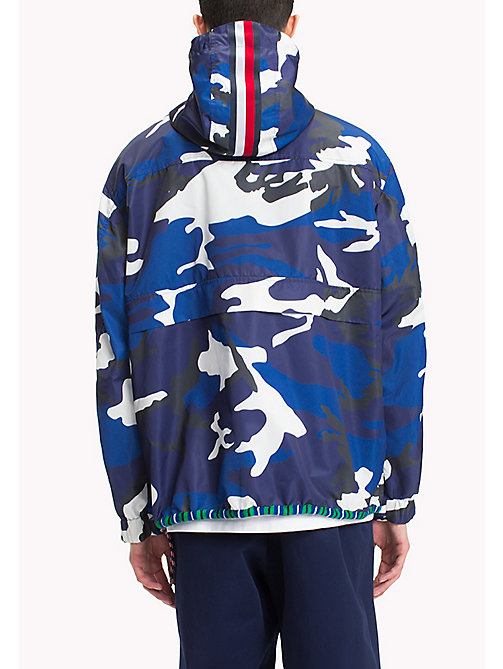 HILFIGER COLLECTION Camouflage Anorak - CAMO PRINT NAVY - HILFIGER COLLECTION Clothing - detail image 1