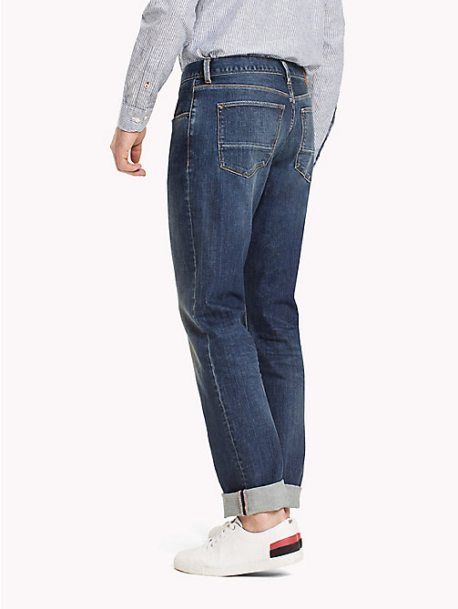 TOMMY HILFIGER Big & Tall Relaxed Fit Jeans - TUCSON INDIGO - TOMMY HILFIGER Big & Tall - detail image 1