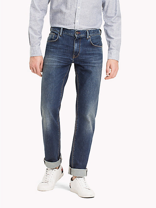 TOMMY HILFIGER Big & Tall Relaxed Fit Jeans - TUCSON INDIGO - TOMMY HILFIGER Big & Tall - main image