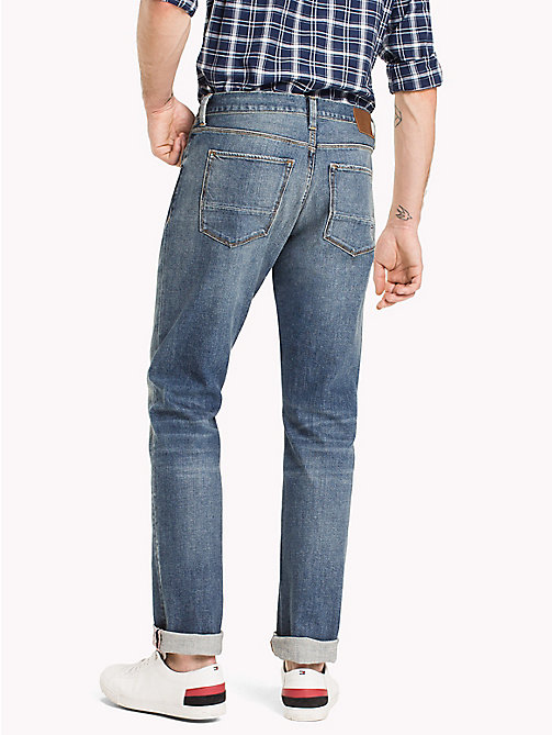 TOMMY HILFIGER Big & Tall Relaxed Fit Jeans - NORMAN BLUE - TOMMY HILFIGER Big & Tall - detail image 1