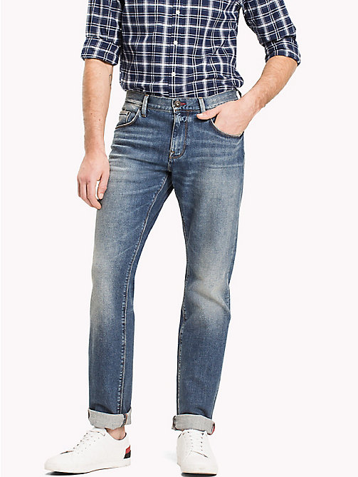 TOMMY HILFIGER Big & Tall Relaxed Fit Jeans - NORMAN BLUE - TOMMY HILFIGER Big & Tall - main image
