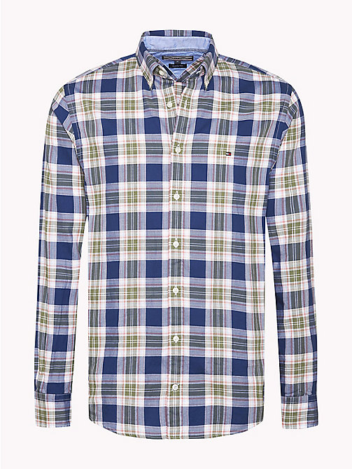 TOMMY HILFIGER Big & Tall Regular Fit Checked Shirt - ESTATE BLUE / MULTI - TOMMY HILFIGER Big & Tall - main image