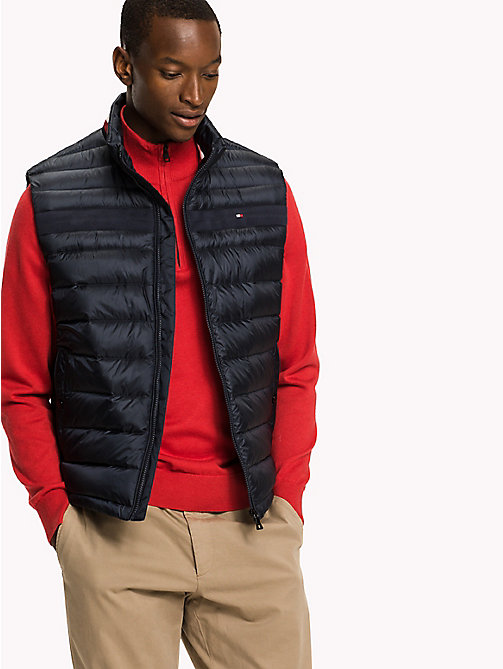 TOMMY HILFIGER Big & Tall Down Gilet - SKY CAPTAIN - TOMMY HILFIGER Big & Tall - main image