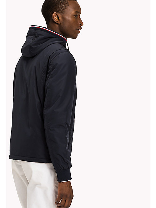 TOMMY HILFIGER Big & Tall Nylon Windbreaker - SKY CAPTAIN - TOMMY HILFIGER Big & Tall - detail image 1