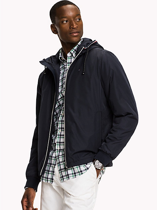 TOMMY HILFIGER Nylon Windbreaker - SKY CAPTAIN - TOMMY HILFIGER Men - main image