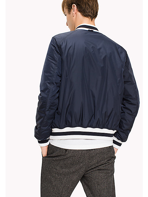 TOMMY HILFIGER Big & Tall Classic Nylon Bomber - SKY CAPTAIN - TOMMY HILFIGER Big & Tall - detail image 1