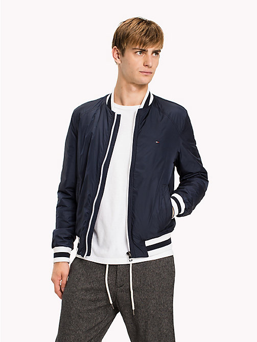 TOMMY HILFIGER Big & Tall Classic Nylon Bomber - SKY CAPTAIN - TOMMY HILFIGER Big & Tall - main image