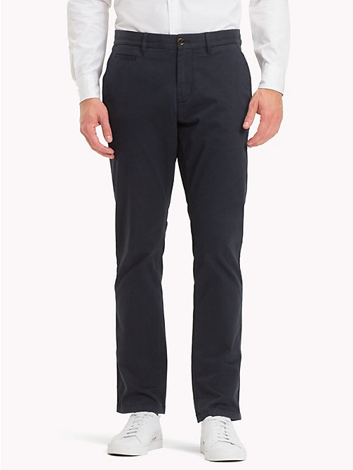 TOMMY HILFIGER Organic Cotton Chinos - SKY CAPTAIN - TOMMY HILFIGER Clothing - main image