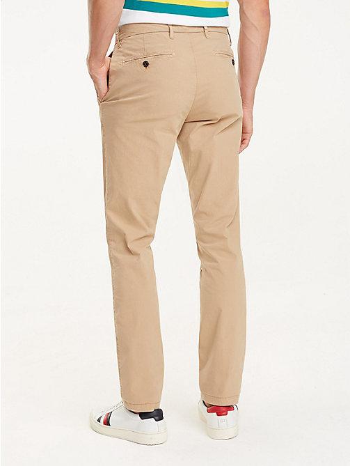 ... TOMMY HILFIGER Crisp Straight Fit Chinos - BATIQUE KHAKI - TOMMY  HILFIGER Trousers   Shorts - d80fb34df0