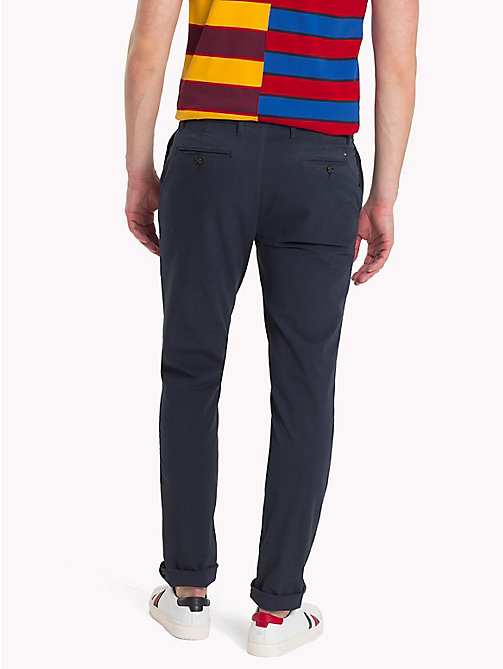 TOMMY HILFIGER Straight Fit Ripstop Chinos - SKY CAPTAIN - TOMMY HILFIGER Chinos - detail image 1