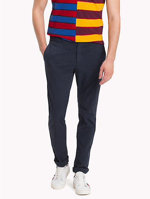 TOMMY HILFIGER Straight Fit Ripstop Chinos - SKY CAPTAIN - TOMMY HILFIGER Trousers & Shorts - main image