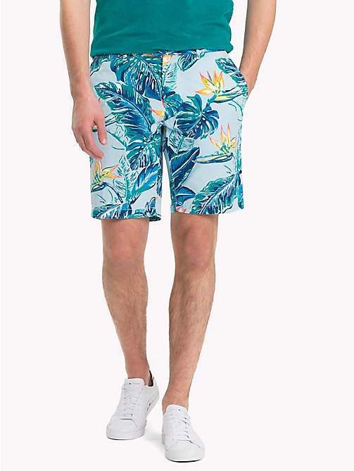 TOMMY HILFIGER Paradise Print Shorts - HAWAIIAN SURF - TOMMY HILFIGER Vacation Style - main image