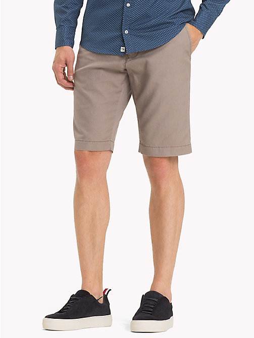 TOMMY HILFIGER Relaxed Waist Shorts - CINDER - TOMMY HILFIGER Clothing - main image