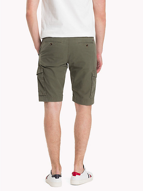 TOMMY HILFIGER Signature Belt Cargo Shorts - GRAPE LEAF - TOMMY HILFIGER Vacation Style - detail image 1