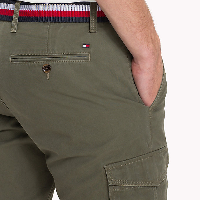 TOMMY HILFIGER Signature Belt Cargo Shorts - SKY CAPTAIN - TOMMY HILFIGER Men - detail image 3