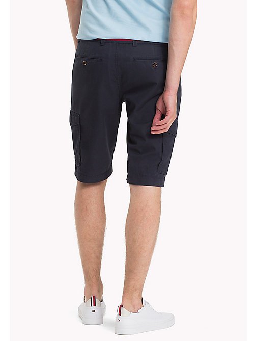 TOMMY HILFIGER Signature Belt Cargo Shorts - SKY CAPTAIN - TOMMY HILFIGER Shorts - detail image 1