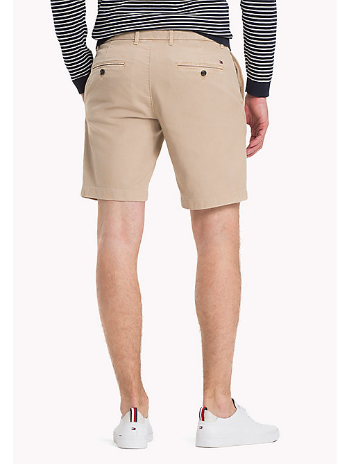 TOMMY HILFIGER Honeycomb Textured Shorts - BATIQUE KHAKI - TOMMY HILFIGER Vacation Style - detail image 1