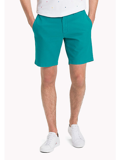 TOMMY HILFIGER Honeycomb Textured Shorts - FANFARE - TOMMY HILFIGER Shorts - main image