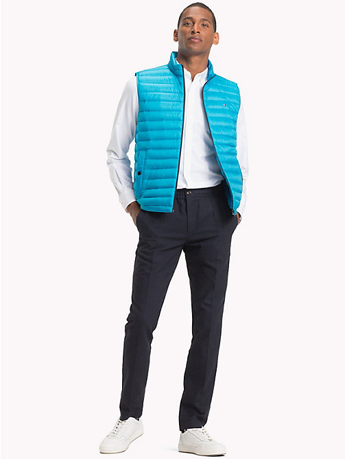 TOMMY HILFIGER Lightweight Packable Down Gilet - VIVID BLUE - TOMMY HILFIGER Coats & Jackets - detail image 1