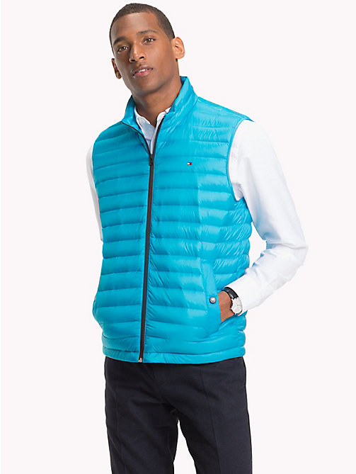 TOMMY HILFIGER Lightweight Packable Down Gilet - VIVID BLUE - TOMMY HILFIGER Gilets - main image