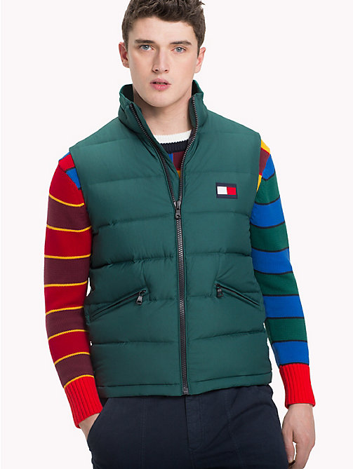 TOMMY HILFIGER Padded Regular Fit Gilet - FOREST BIOME - TOMMY HILFIGER Coats & Jackets - main image
