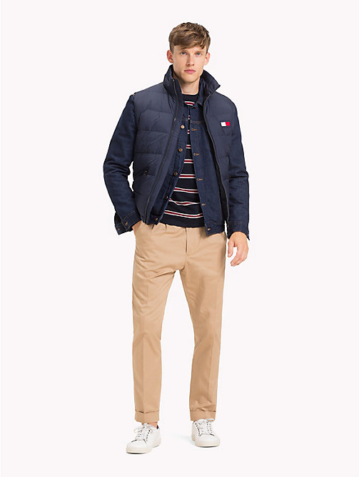 TOMMY HILFIGER Padded Regular Fit Gilet - NAVY BLAZER - TOMMY HILFIGER Jackets - detail image 1