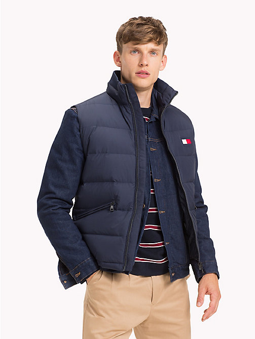 TOMMY HILFIGER Padded Regular Fit Gilet - NAVY BLAZER - TOMMY HILFIGER Jackets - main image