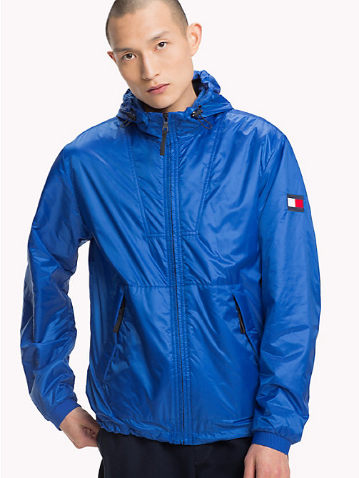 TOMMY HILFIGER Padded Hooded Jacket - STRONG BLUE - TOMMY HILFIGER NEW IN - main image